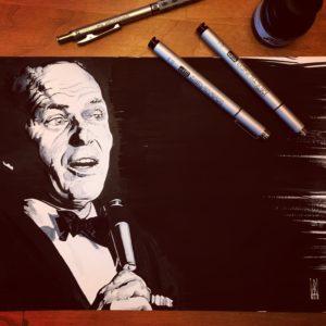 Frank Sinatra - Inktober 2018
