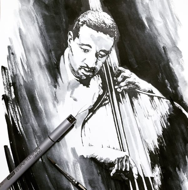 Ray Brown - Inktober 2018