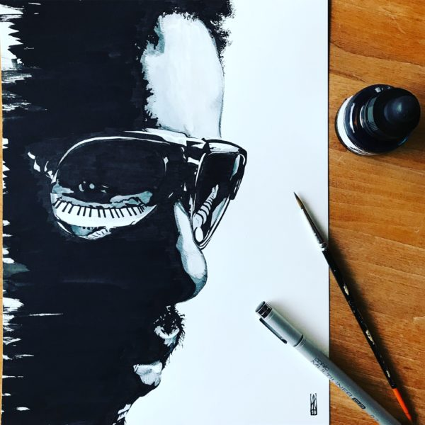 Stevie Wonder - Inktober 2018
